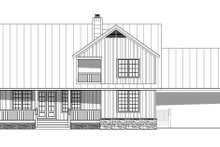 Country Exterior - Rear Elevation Plan #932-268