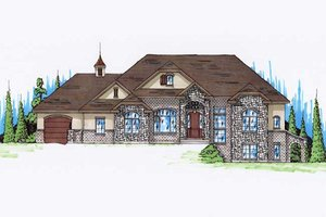 Traditional Exterior - Front Elevation Plan #5-270