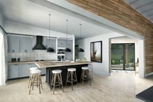 Contemporary Interior - Kitchen Plan #924-1