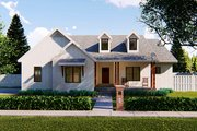 Farmhouse Style House Plan - 3 Beds 3 Baths 2122 Sq/Ft Plan #455-211 Exterior - Front Elevation