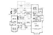 Farmhouse Style House Plan - 3 Beds 2.5 Baths 2258 Sq/Ft Plan #929-1086 Floor Plan - Main Floor Plan