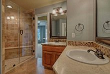 Dream House Plan - Mediterranean Interior - Master Bathroom Plan #80-184