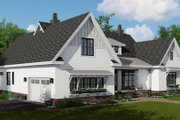 Farmhouse Style House Plan - 4 Beds 3.5 Baths 2514 Sq/Ft Plan #51-1143 Exterior - Other Elevation
