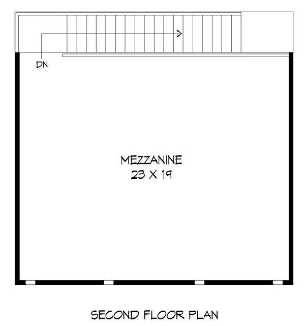Contemporary Floor Plan - Upper Floor Plan Plan #932-231