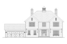 Traditional Exterior - Front Elevation Plan #901-91