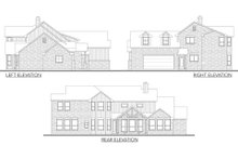 Dream House Plan - Country Exterior - Other Elevation Plan #80-180
