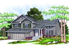 House Plan Design - Traditional Exterior - Front Elevation Plan #70-181