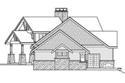 Craftsman Style House Plan - 4 Beds 4.5 Baths 4350 Sq/Ft Plan #124-1042 Exterior - Other Elevation