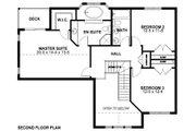 Craftsman Style House Plan - 3 Beds 3 Baths 2152 Sq/Ft Plan #126-158 Floor Plan - Upper Floor Plan