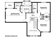 Craftsman Style House Plan - 3 Beds 3 Baths 2152 Sq/Ft Plan #126-158 Floor Plan - Upper Floor