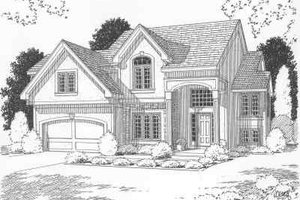 Traditional Exterior - Front Elevation Plan #6-118