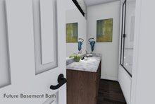House Plan Design - Future Finished Basement Bath
