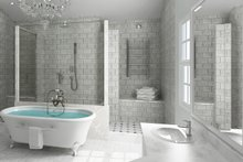 Ranch Interior - Master Bathroom Plan #119-430