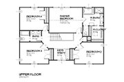 Traditional Style House Plan - 4 Beds 2.5 Baths 2483 Sq/Ft Plan #901-85 Floor Plan - Upper Floor Plan