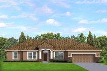 House Blueprint - Ranch Exterior - Front Elevation Plan #1058-192