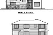 Contemporary Style House Plan - 4 Beds 3 Baths 3133 Sq/Ft Plan #1066-49 Exterior - Other Elevation