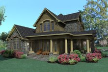 Home Plan - Craftsman Exterior - Front Elevation Plan #120-167
