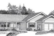 Dream House Plan - Traditional Exterior - Front Elevation Plan #53-238