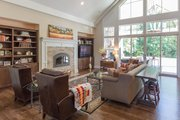 Craftsman Style House Plan - 3 Beds 2.5 Baths 3815 Sq/Ft Plan #124-925 Interior - Family Room