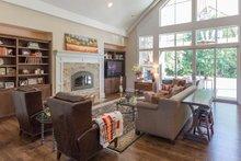 Craftsman Interior - Family Room Plan #124-925