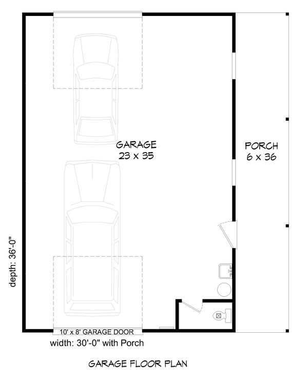 Contemporary Floor Plan - Main Floor Plan Plan #932-85