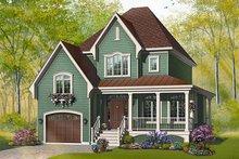 Farmhouse Exterior - Front Elevation Plan #23-803