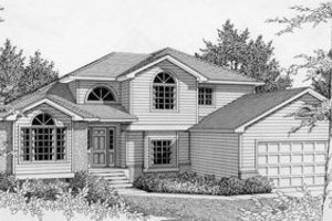 Traditional Exterior - Front Elevation Plan #112-132