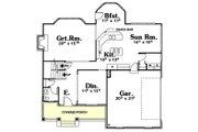 Farmhouse Style House Plan - 4 Beds 2.5 Baths 2364 Sq/Ft Plan #20-2025 Floor Plan - Main Floor Plan