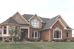 Traditional Exterior - Front Elevation Plan #20-1102