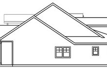 Home Plan - Craftsman Exterior - Other Elevation Plan #124-453