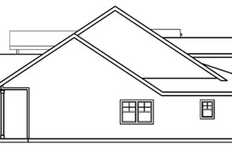 Craftsman Exterior - Other Elevation Plan #124-453 - Houseplans.com