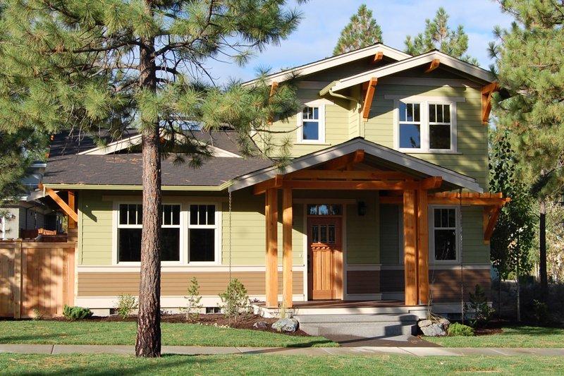 House Plan Design - Craftsman Exterior - Front Elevation Plan #895-71