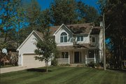 Craftsman Style House Plan - 4 Beds 2.5 Baths 1882 Sq/Ft Plan #20-2191 Exterior - Front Elevation