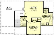 Farmhouse Floor Plan - Upper Floor Plan Plan #430-237