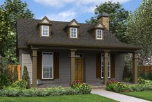 Dream House Plan - Cottage Exterior - Front Elevation Plan #48-951