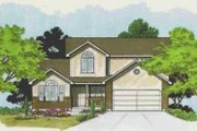 Traditional Style House Plan - 5 Beds 3.5 Baths 2061 Sq/Ft Plan #308-118 Exterior - Front Elevation