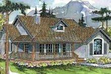 Home Plan - Farmhouse Exterior - Front Elevation Plan #124-406