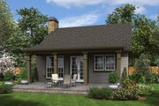 Cottage Style House Plan - 2 Beds 1 Baths 960 Sq/Ft Plan #48-951 Exterior - Rear Elevation