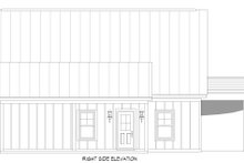 House Plan Design - Cabin Exterior - Other Elevation Plan #932-285