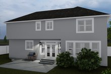 Craftsman Exterior - Rear Elevation Plan #1060-57