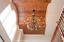Architectural House Design - Entry Vaulted Ceiling
