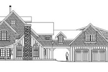 Dream House Plan - Craftsman Exterior - Other Elevation Plan #124-587