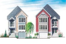 Home Plan Design - Traditional Exterior - Front Elevation Plan #23-2143