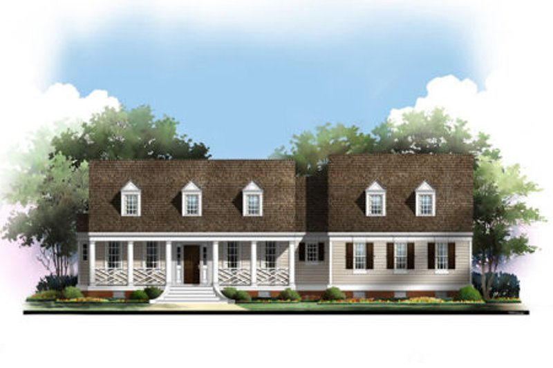 Traditional Exterior - Other Elevation Plan #119-355 - Houseplans.com