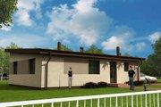 Modern Style House Plan - 3 Beds 1 Baths 1098 Sq/Ft Plan #538-14