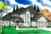 Traditional Style House Plan - 3 Beds 2.5 Baths 2270 Sq/Ft Plan #405-134