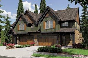 Craftsman Exterior - Front Elevation Plan #48-626