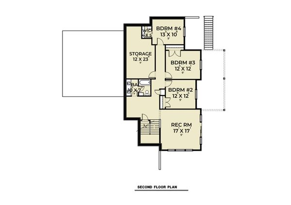 Dream House Plan - Craftsman Floor Plan - Lower Floor Plan #1070-130