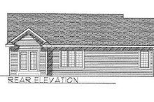 Traditional Exterior - Rear Elevation Plan #70-106