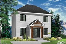 Traditional Exterior - Front Elevation Plan #23-608